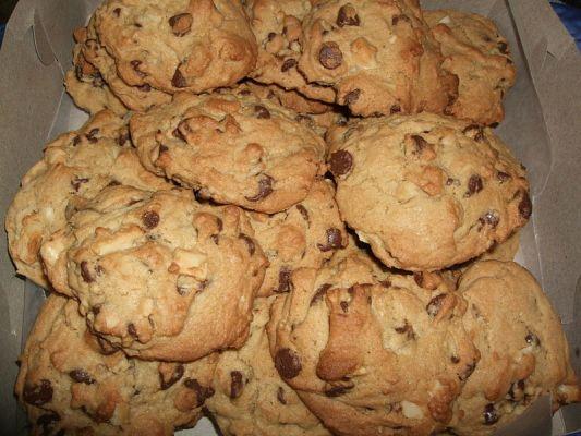 עוגיות שוקולד אגוזים