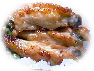 כנפיים עם אורז וירקות בתנור