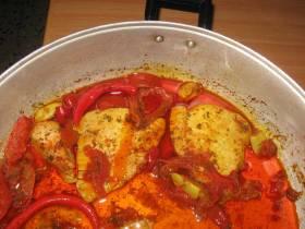 דג טונה מבושל בסגנון מרוקאי