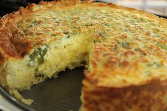 סופלה גבינת עזים ובזיליקום