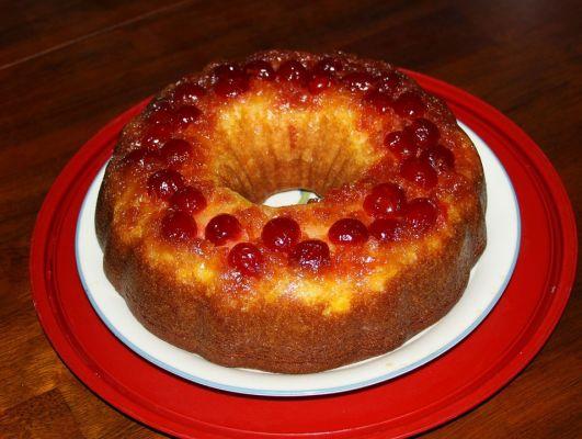 עוגת תפוזים עם סירופ