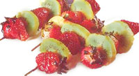 שיפודי פירות טריים