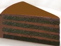 עוגת שוקולד וקרם
