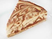 עוגת שייש גבינה ושוקולד