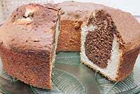 עוגת שייש שוקולד בחושה