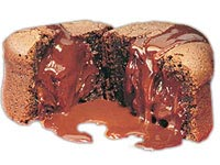 עוגת שוקולד חמה אישית