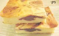 עוגת גבינה שייש קלה
