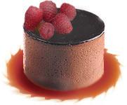 עוגת מוס שוקולד פטל