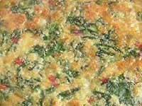 קיש תרד ועגבניות מיובשות