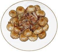 בשר ופטריות מוקפצים