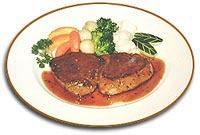 אומצות מפולפלות Steak Au Poivre