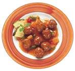 כדורי בשר ברוטב חמוץ-מתוק