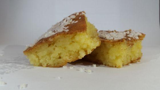 עוגת קוקוס אוורירית