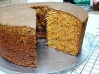 עוגת 'שיפון' גזר