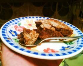 עוגת נס קפה וברנדי