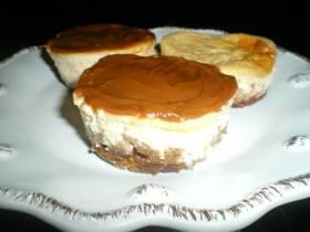 עוגת גבינה וקרמל