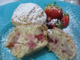 עוגת תותים ושוקולד לבן