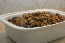 פטריות מטוגנות ללא שמן
