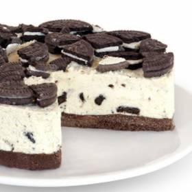 עוגת גבינה עם עוגיות שוקולד