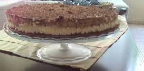 עוגת שוקולד אגוזים וניל