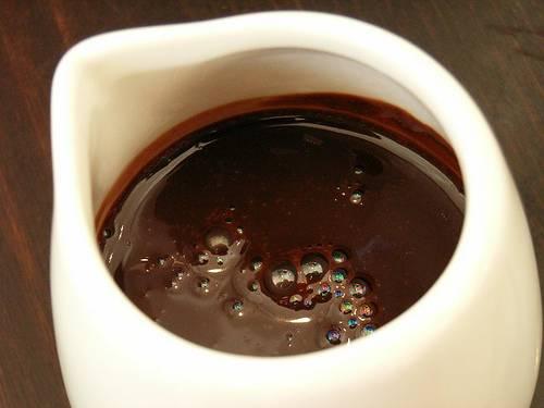 סירופ שוקולד פשוט