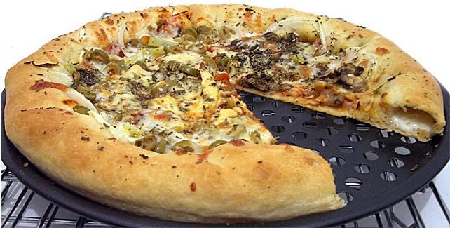 פיצה ממולאה
