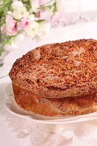 עוגת תפוחים במיקרוגל 8 דקות הכנה