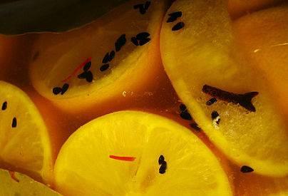 לימון כבוש במיקרוגל