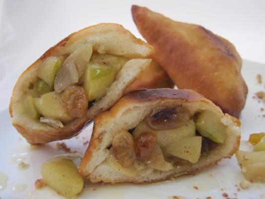 סמבוסק תפוחים בדבש