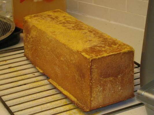 לחם כפרי בתבנית קאסטן.