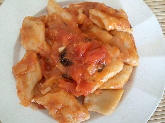 קופיטקה עם רוטב עגבניות