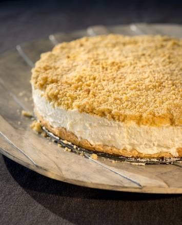 עוגת גבינה עם פירורים (חלבי)