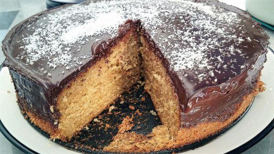 עוגת תפוזים עם ציפוי שוקולד
