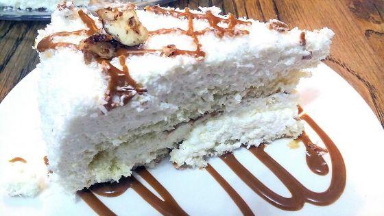 רפאלו - עוגת שכבות קוקוס/שקדים
