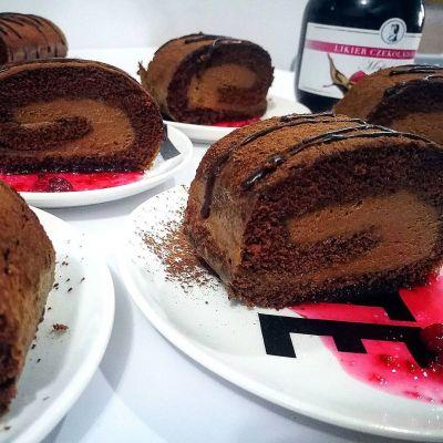 רולדה שוקולד עם קרם ליקר