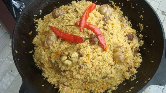 אושפלאו - תבשיל אורז בוכרי
