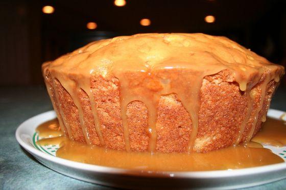 עוגת תפוחי עץ דלת שומן