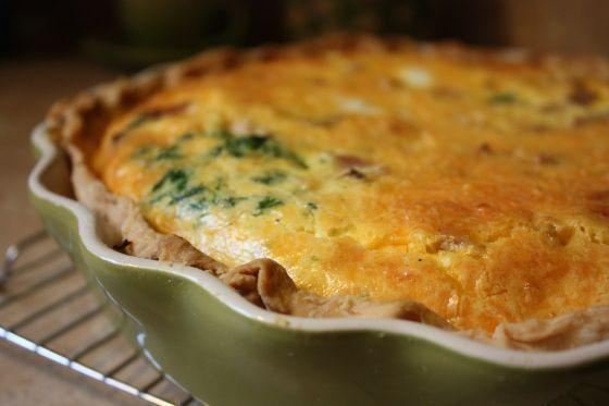 מאפה בצק פריך עם גבינה