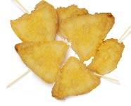 משולשי גבינה בבצק טמפורה