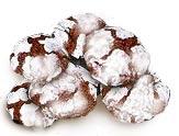 עוגיות סדוקות קקאו