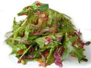 סלט ירוקים בויניגרט דבש