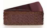 עוגת שוקלד כהה מהירה